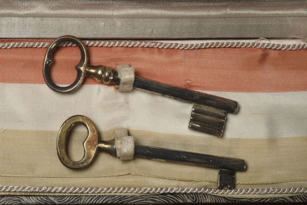 Keys to the city of Reims, France