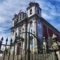 External facade of the Church of Saint Ildefonso in Portugal - one of the prettiest places in Portugal