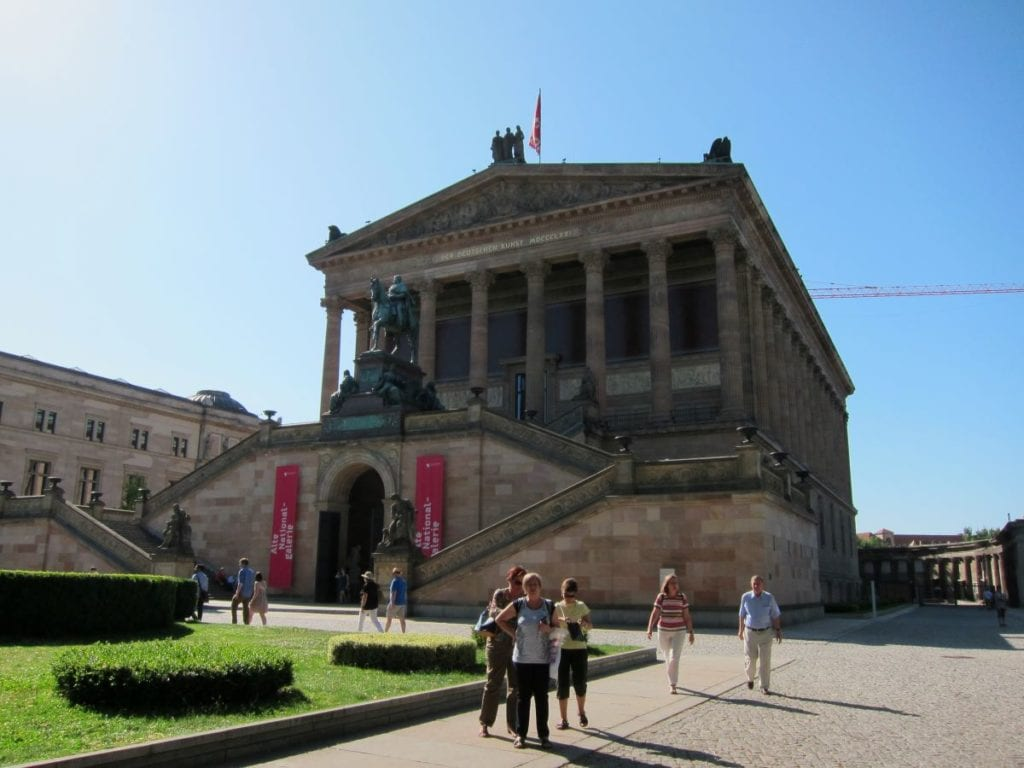 Alte National Galerie on Museuminsel in Berlin.