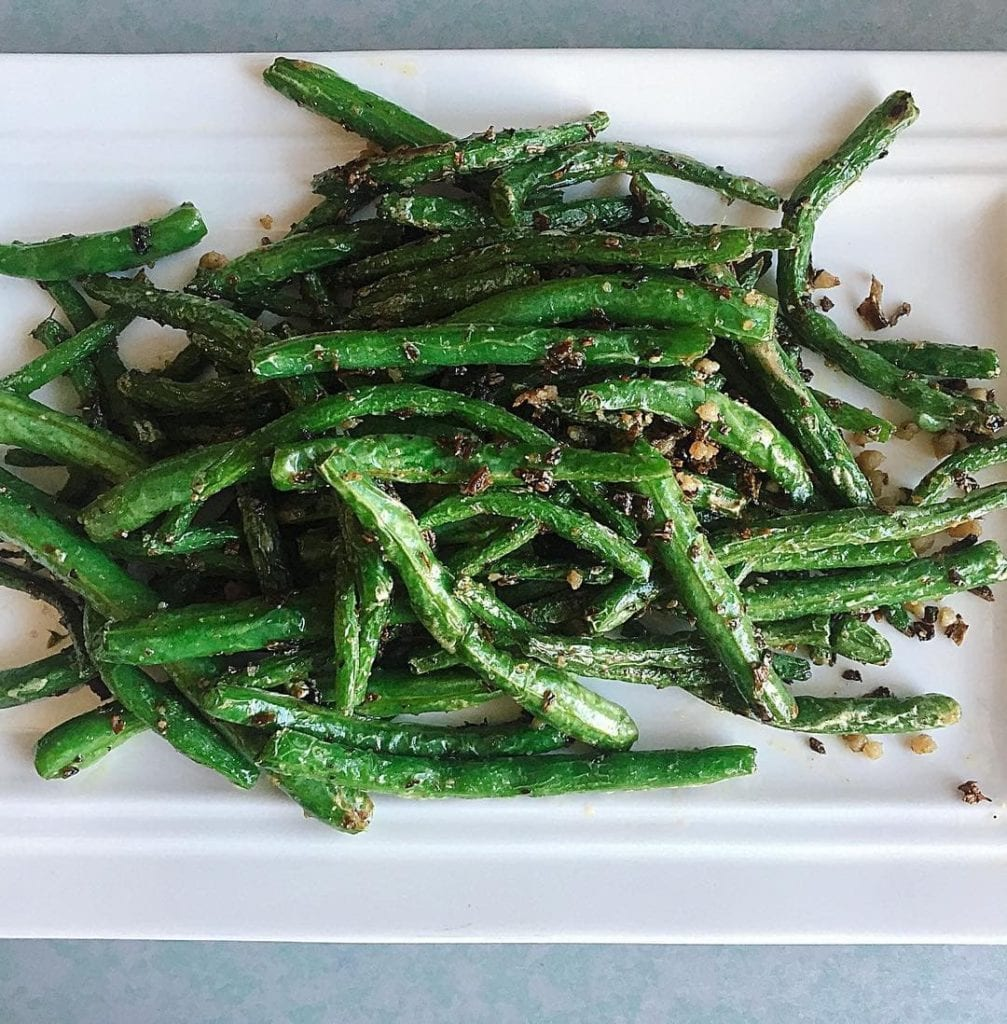 Chengdu style green beans, from Chengdu Taste, where to eat in Providence, RI.