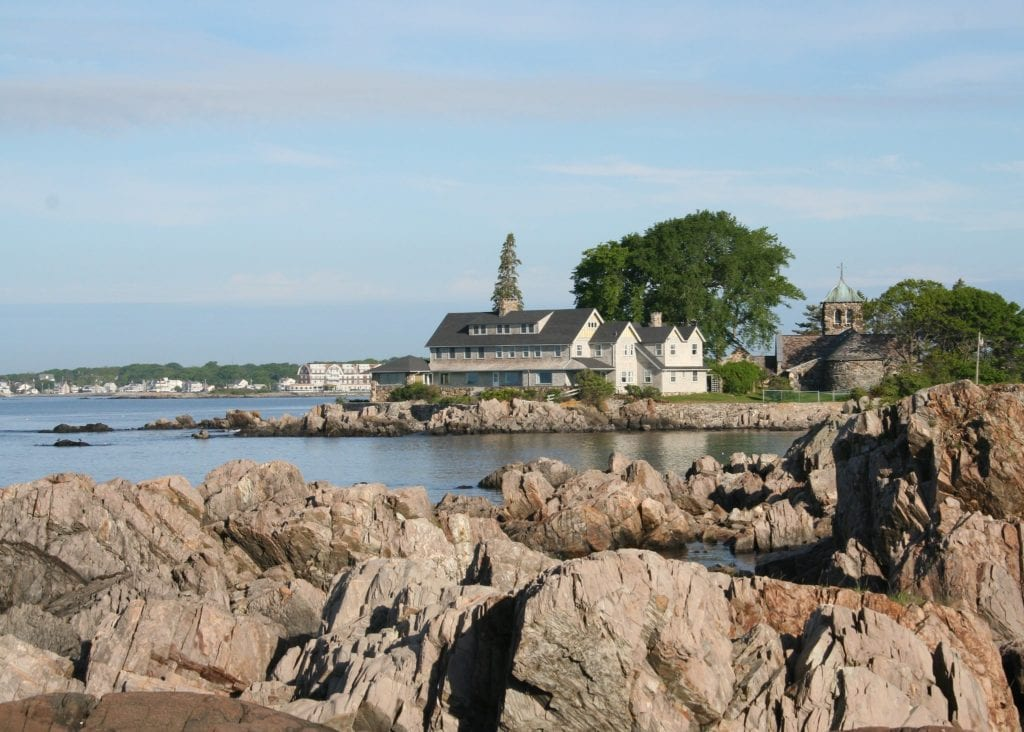 Coastal town of Kennebunkport, Maine, a day trip away from Boston.