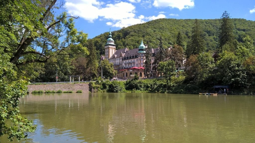Resort in Miskolc, Hungary, one of the best day trips from Budapest.