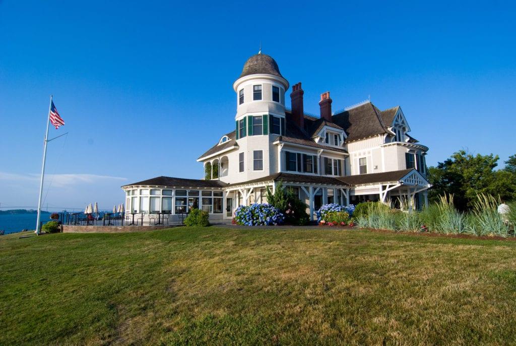 Castle Hill Inn in Newport, Rhode Island.