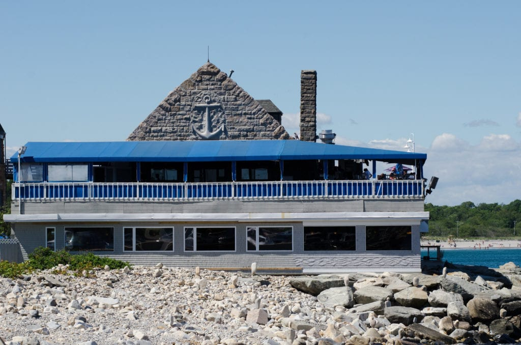 Coast Guard House, popular restaurant in Narragansett, Rhode Island.