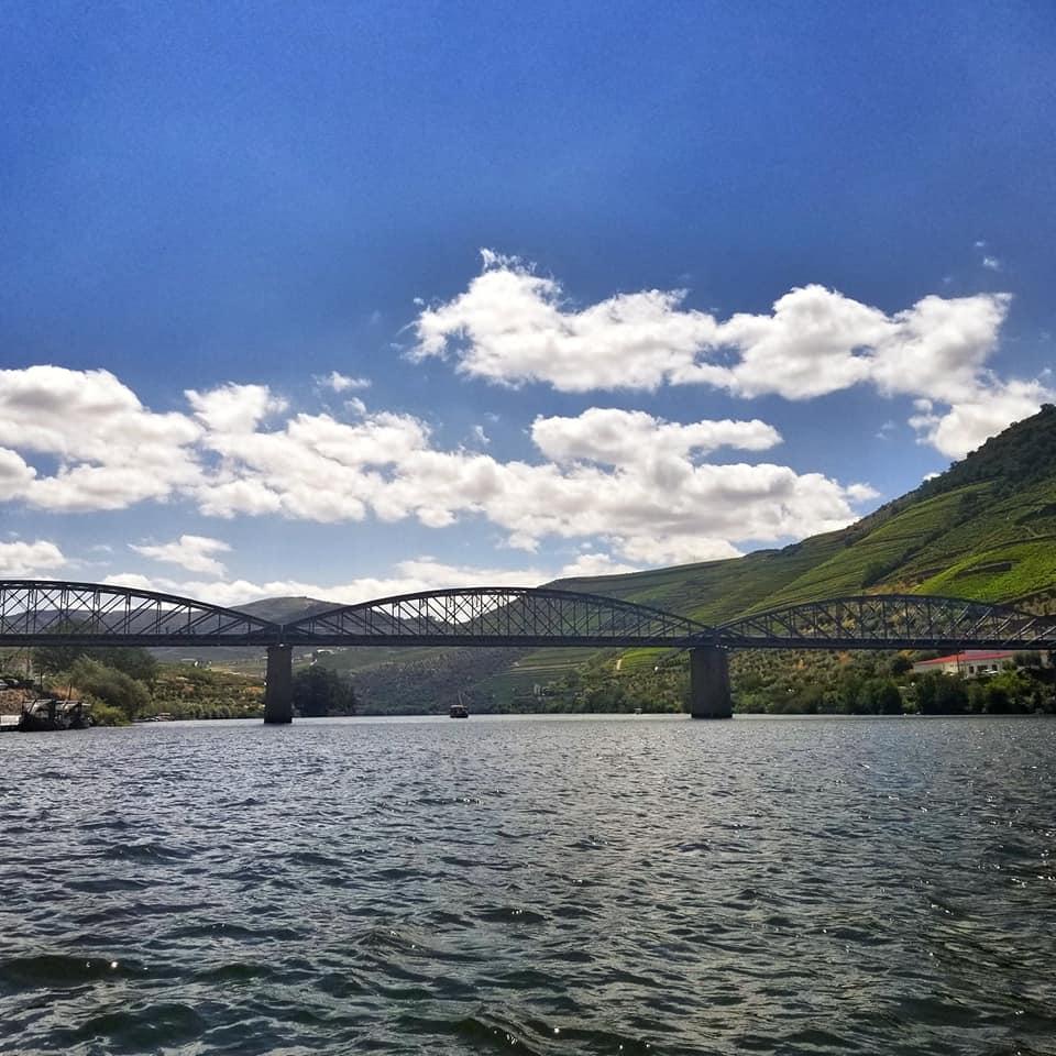 Bridge crossing the Douro River in Portugal