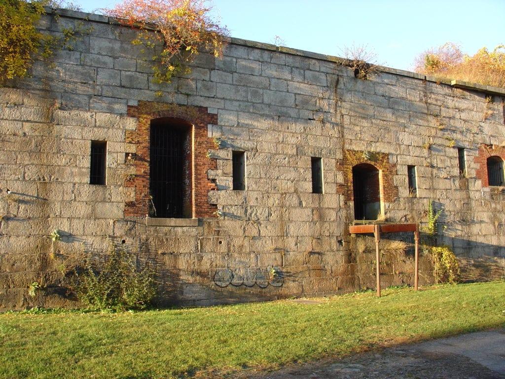 Fort Adams State Park in Newport, Rhode Island.