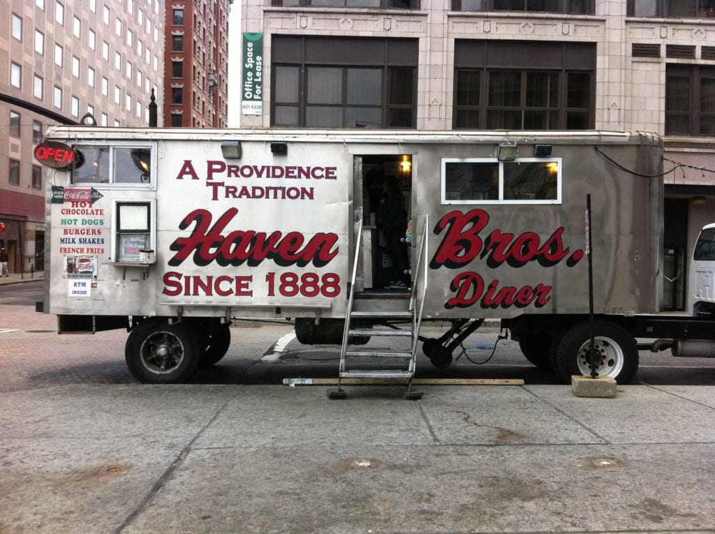 Haven Bros. Trailer, a RI institution since 1888.