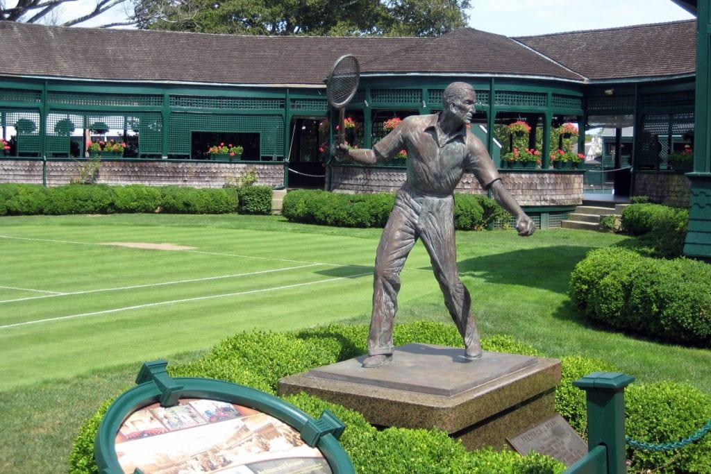 International Tennis Hall of Fame in Newport, Rhode Island