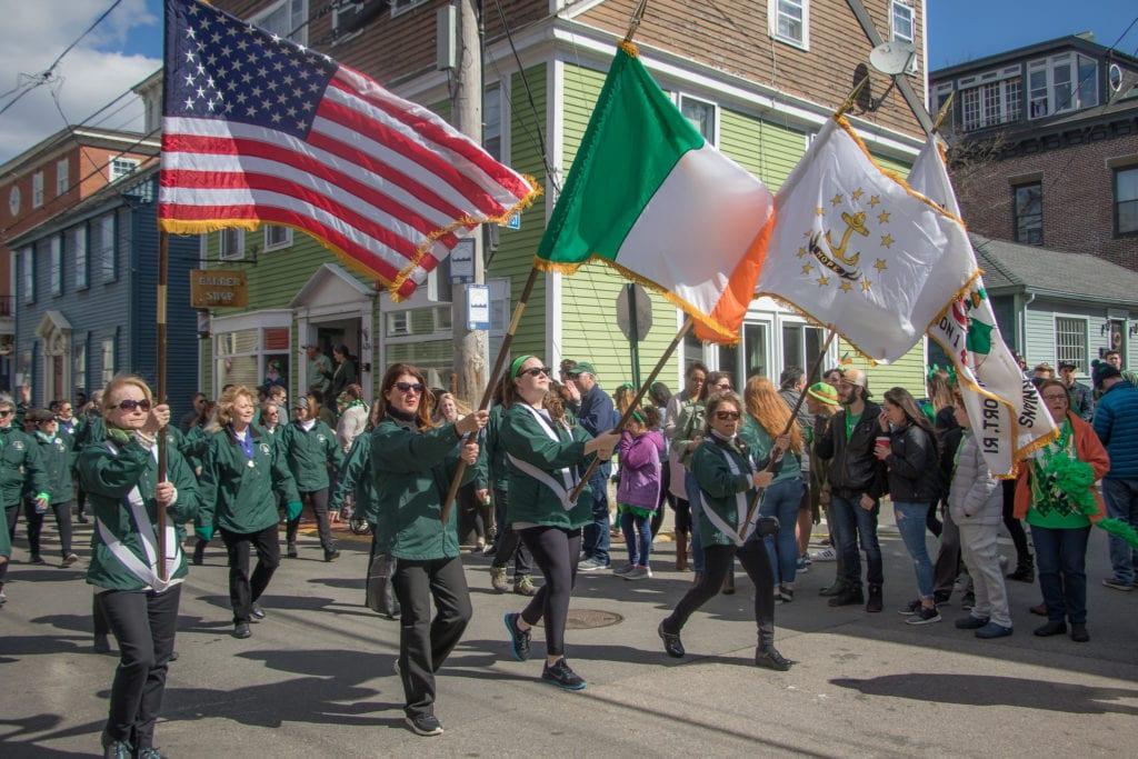 Newport St. Paddy's Day Festival in Rhode Island.