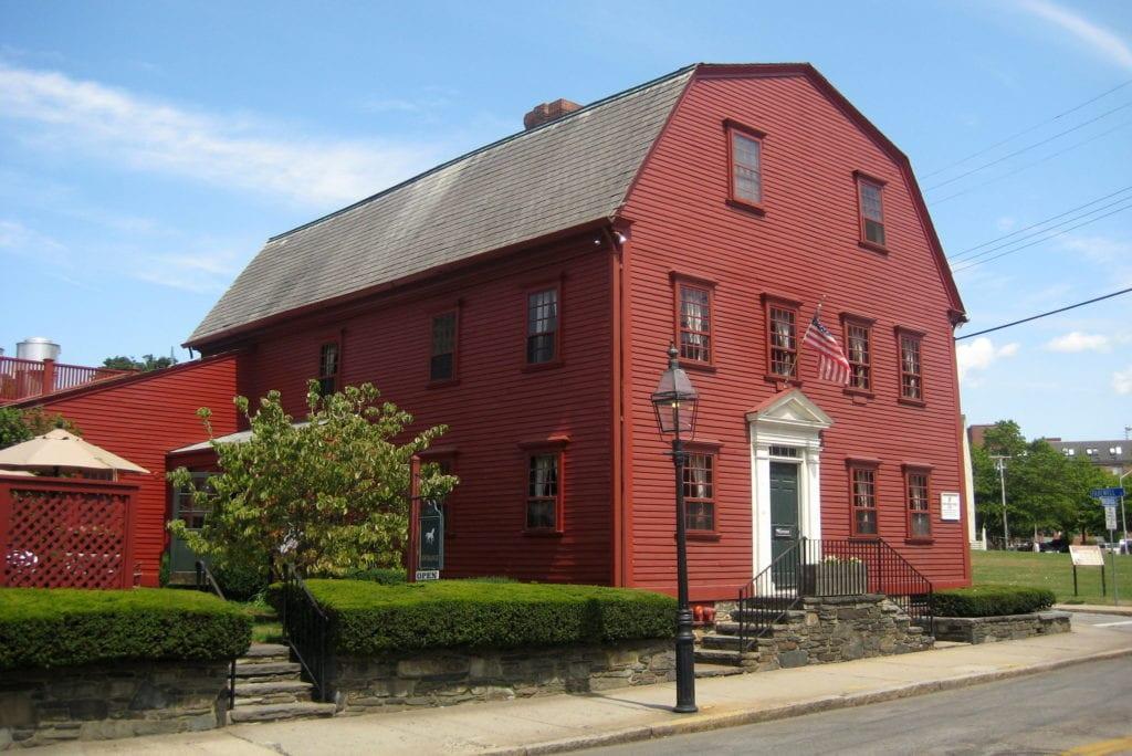 White Horse Tavern in Newport, Rhode Island, America's oldest tavern.