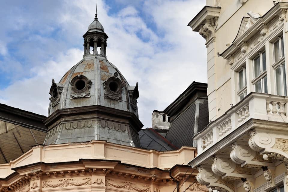 Building tops in Sibiu, Romania