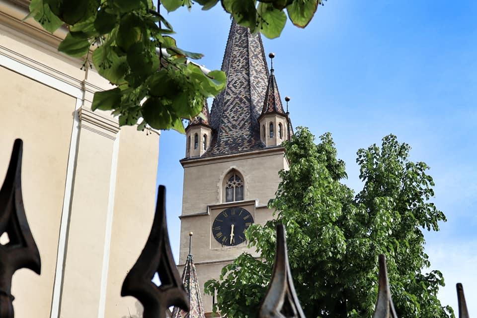 Lutheran Church Cathedral in Sibiu, Romania