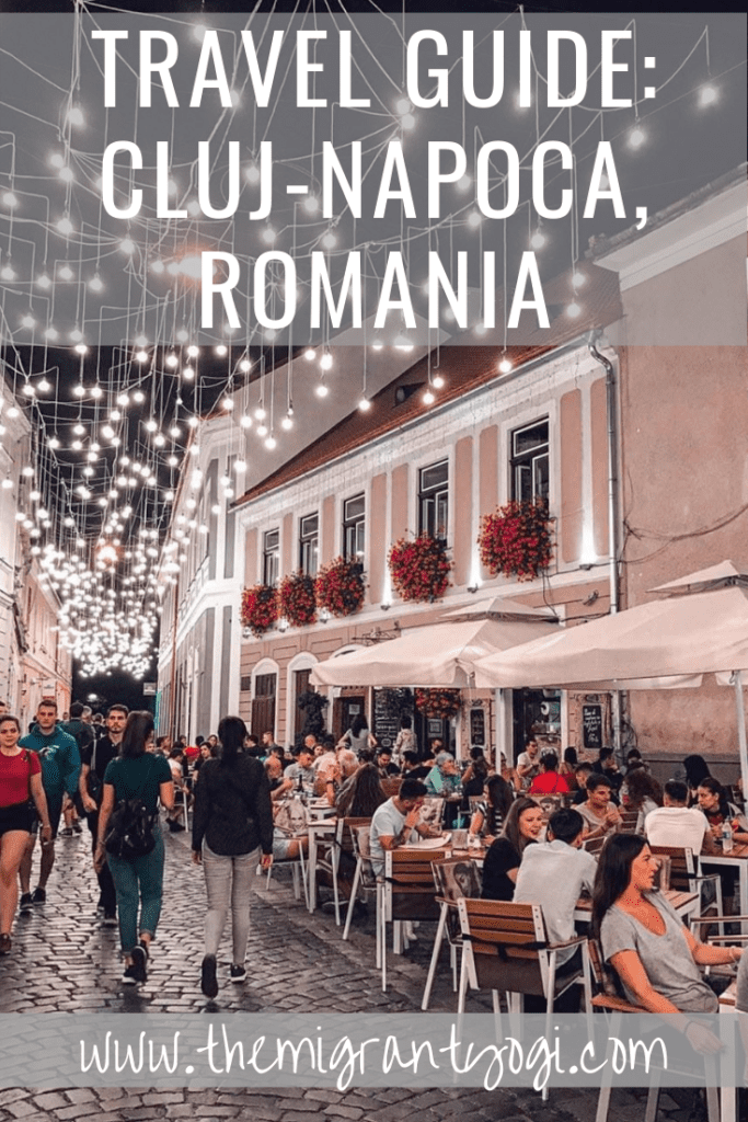 Pinterest graphic: Ultimate Guide to Cluj Napoca