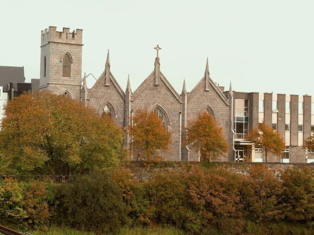Collegiate Church of St. Nicholas in Galway City, Ireland.