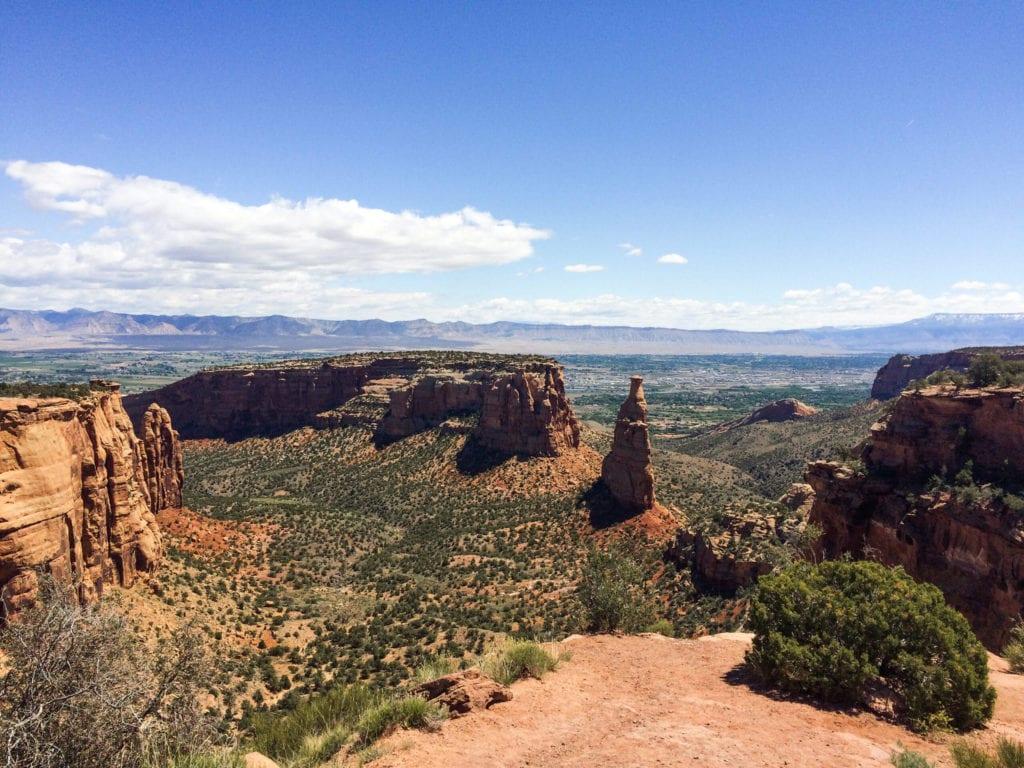 Grand Junction, Colorado desert landscape