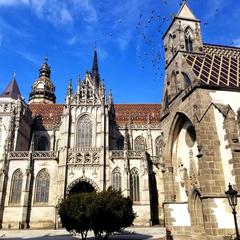 St. Elisabeth's Cathedral in Slovakia (Kosice) largest church in Slovakia