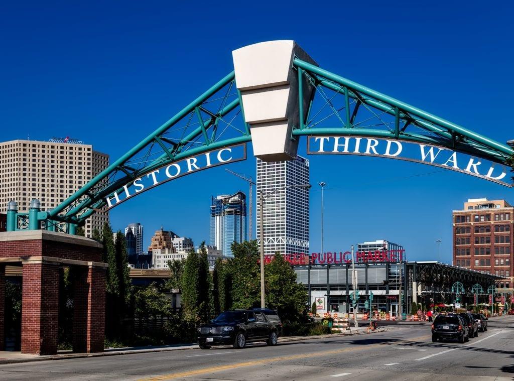 Historic Third Ward in Milwaukee, WI.