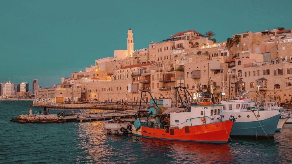 Port of Old Jaffa in Jerusalem