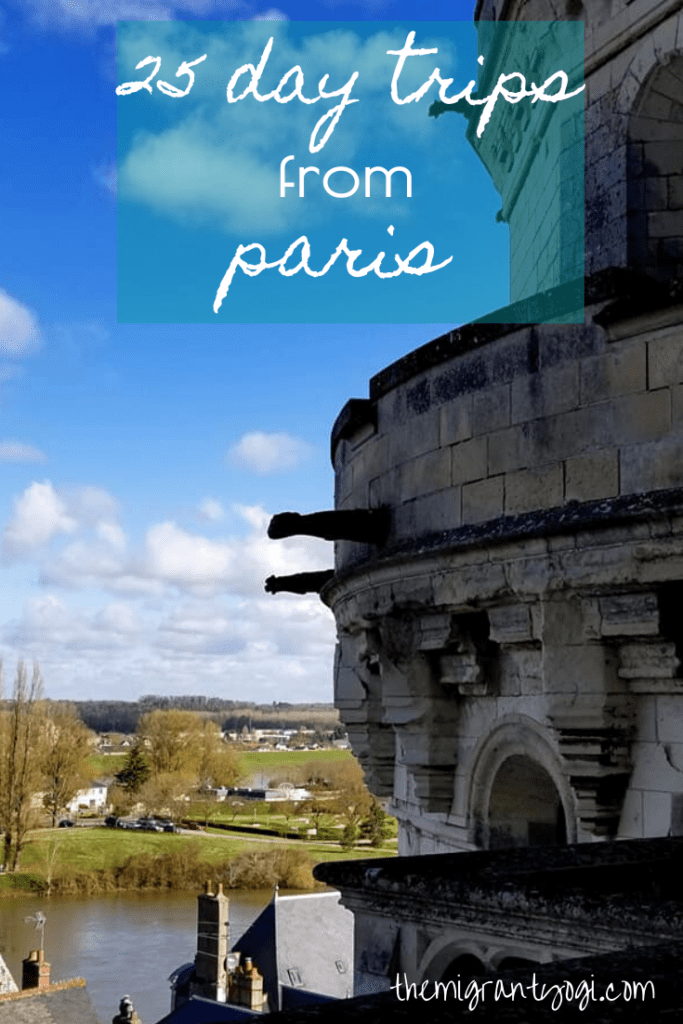 Pinterest graphic - Day Trips from Paris