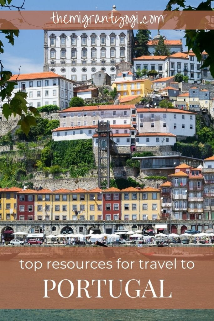 Pinterest graphic - Top Resources for Travel to Portugal