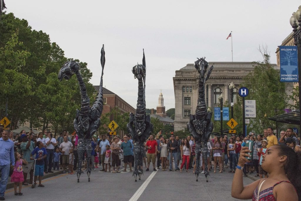 PVD Fest in Rhode Island's capital city, Providence.