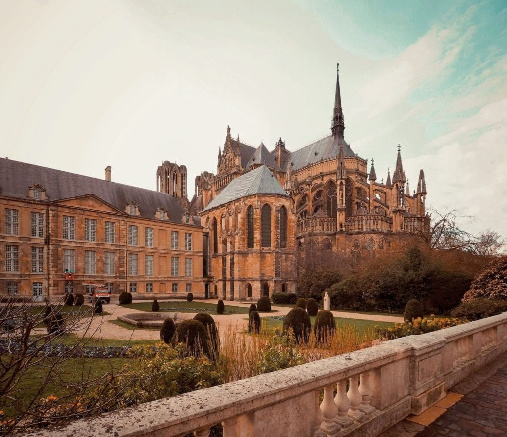 Palais du Tau in Reims, one of the best day trips to take from Paris.