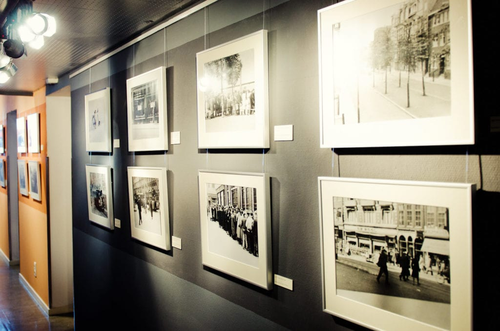 Exhibition at the Dutch Resistance Museum
