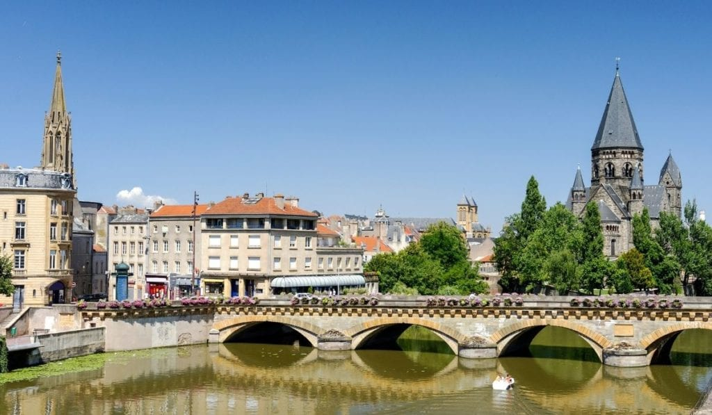 One of the best day trip from Paris - Metz, a gorgeous French city.