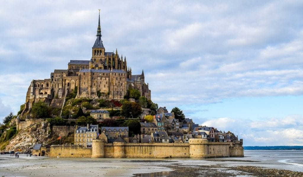 Mont Saint Michel, one of France's most iconic monuments that can be done as a day trip from Paris!