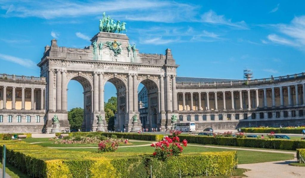 Gorgeous architecture in Brussels, Belgium.