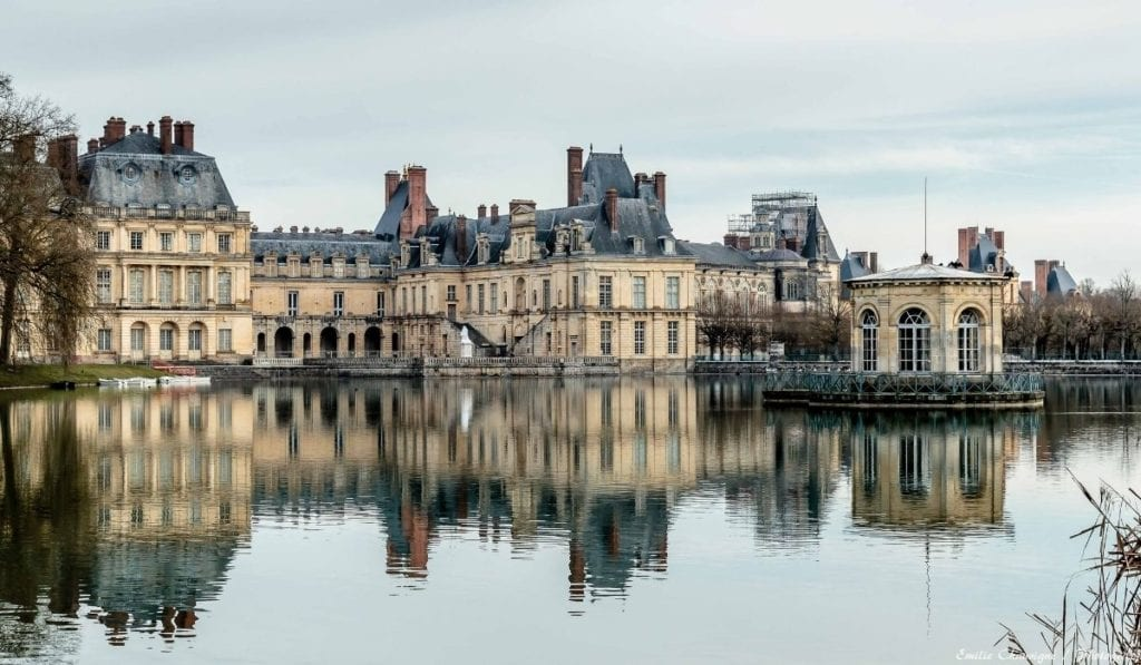 One of the best day trip from Paris - Chateau le Fontainebleau, a good alternative to Versailles if you want to see less crowds.