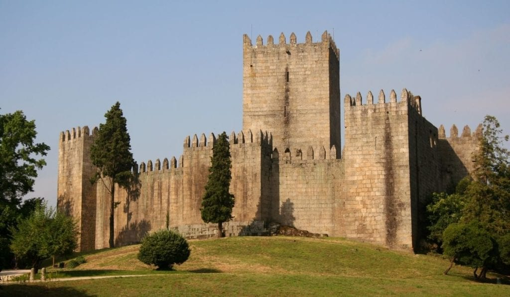Guimaraes Castle in Portugal, an easy day trip from Porto!