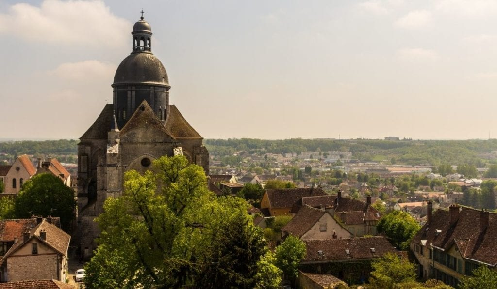 One of the best day trip from Paris - medieval town of Provins, France.