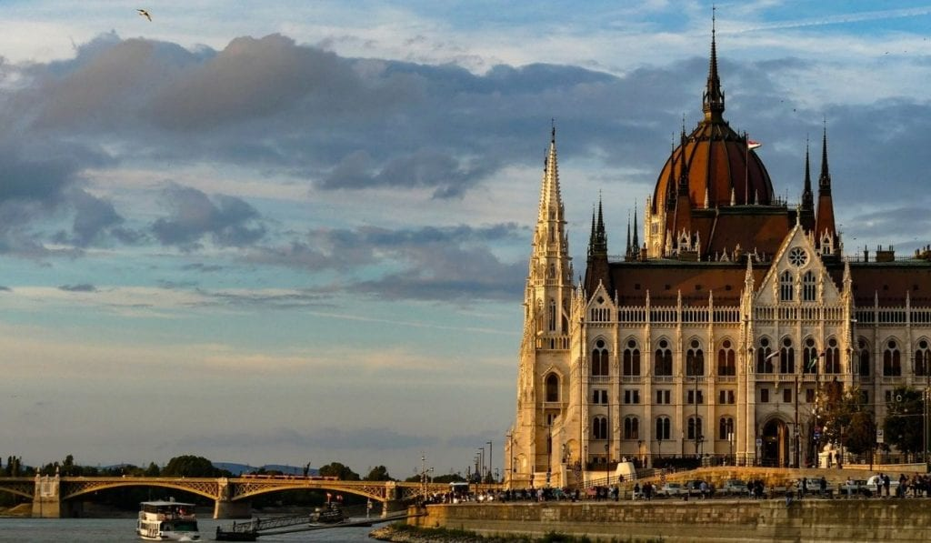 Budapest Parliament building, one of the most beautiful cities in Europe.