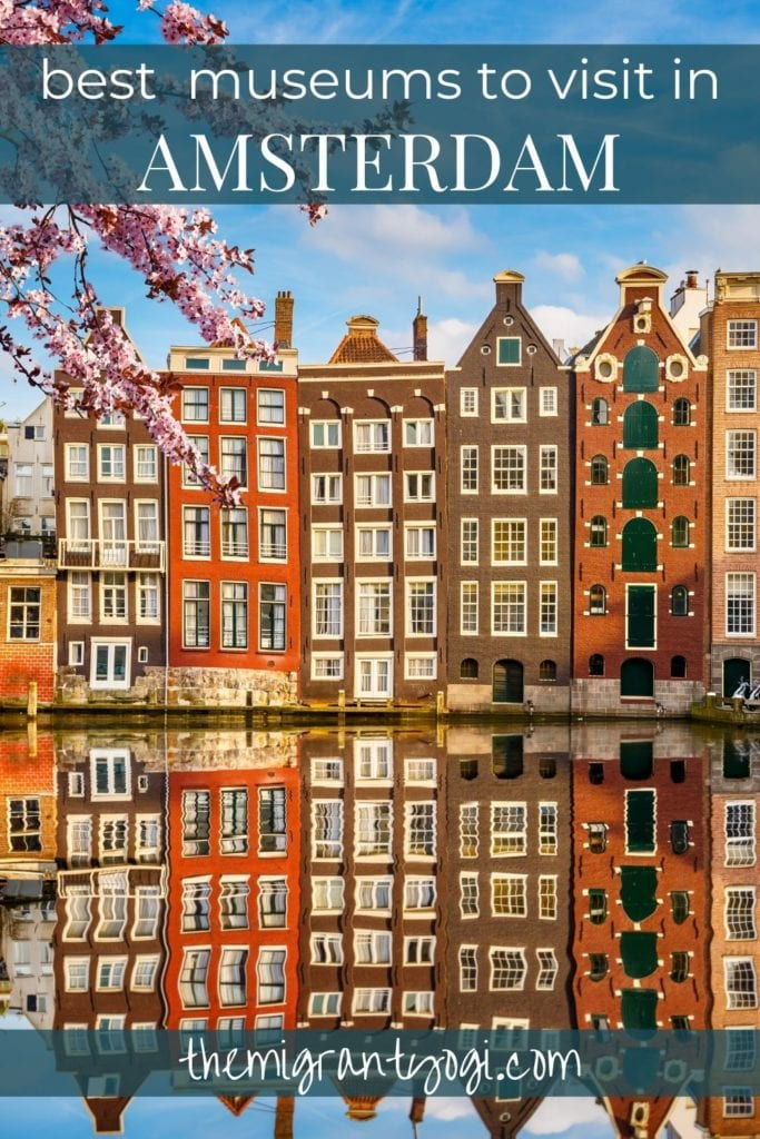 Pinterest graphic - best museums in Amsterdam