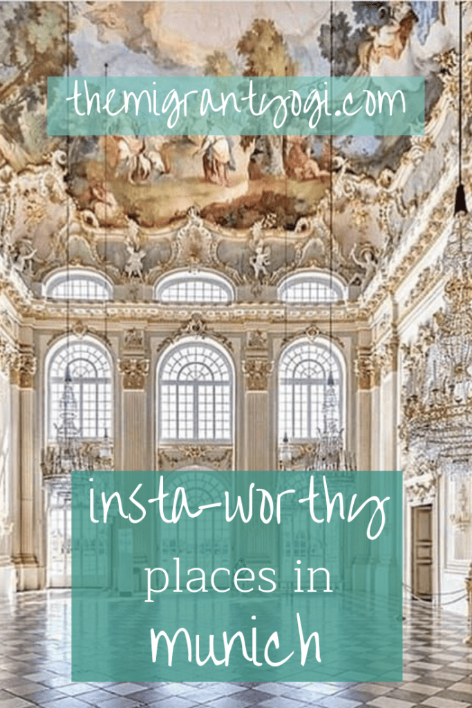 Pinterest graphic - most Instagrammabale places in Munich