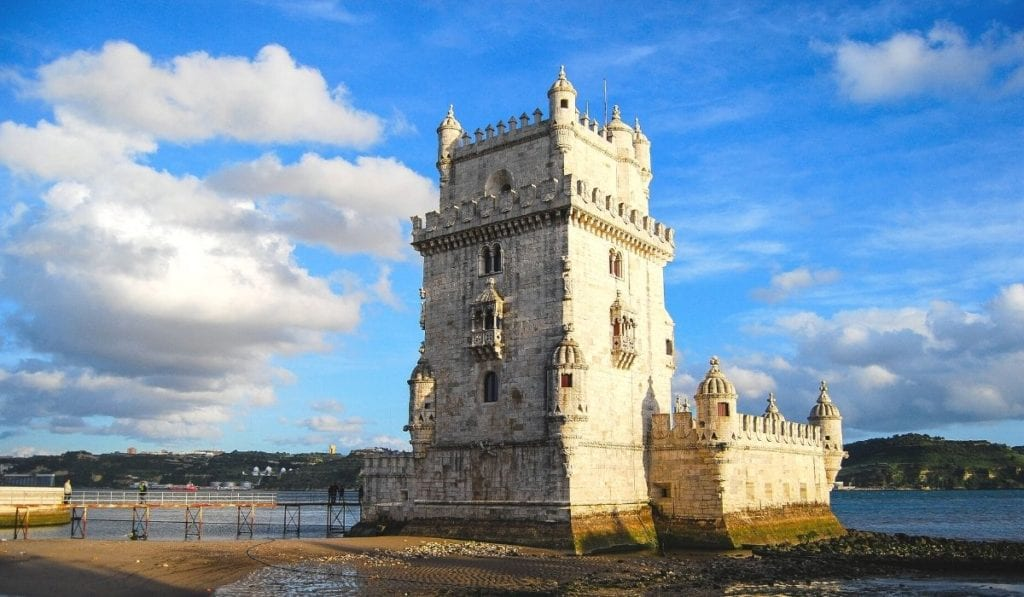 UNESCO World Heritage Site, the Tower of Belem in Lisbon, Portugal.